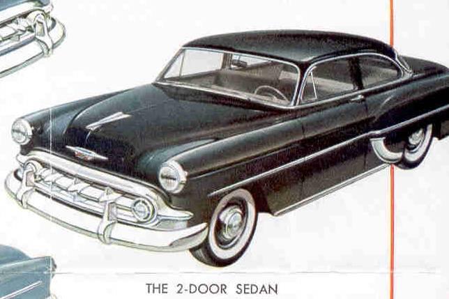 1953 chevrolet bel air 2 door 4 door sedan interiors for 1953 chevrolet belair 4 door sedan